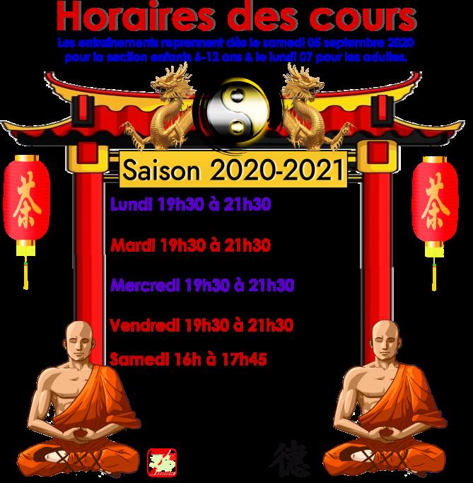 03 horaires des cours 2020 21